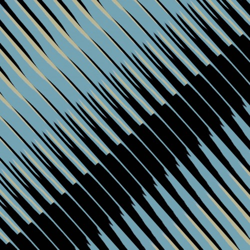 blue balck angle tile lofi